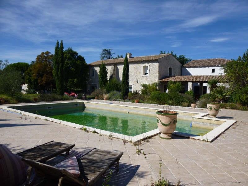 Deluxe sale house / villa Nimes 880000€ - Picture 1