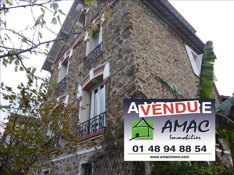 Vente maison / villa Villemomble 624000€ - Photo 1