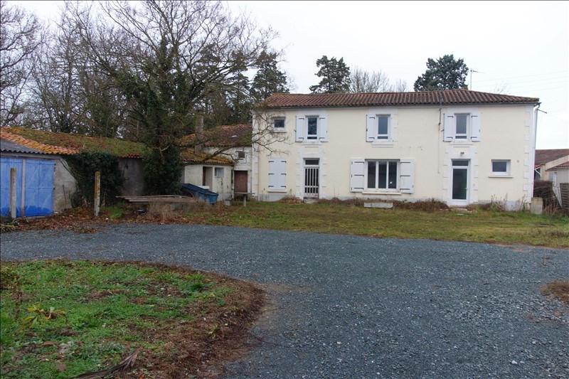 Sale house / villa Le poire sur velluire 78000€ - Picture 1