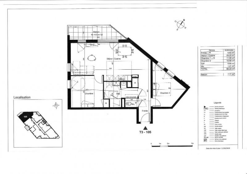 Vente appartement Tours 228000€ - Photo 5