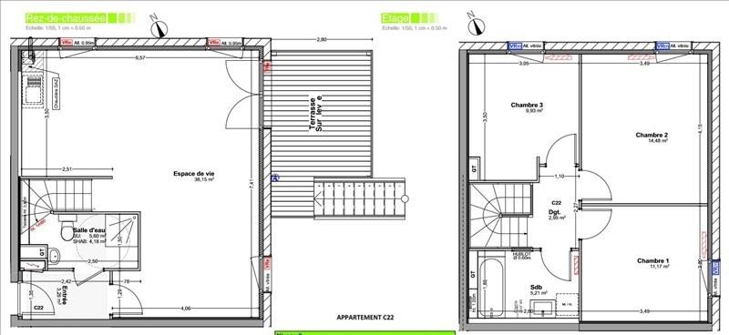 Vendita casa Vetraz monthoux 420000€ - Fotografia 2