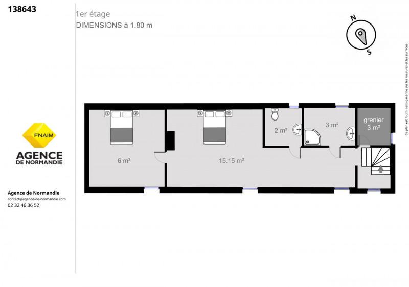 Vente maison / villa Montreuil-l'argillé 138000€ - Photo 9