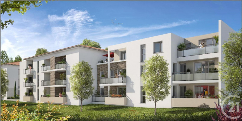 Rental apartment Tournefeuille 560€ CC - Picture 1
