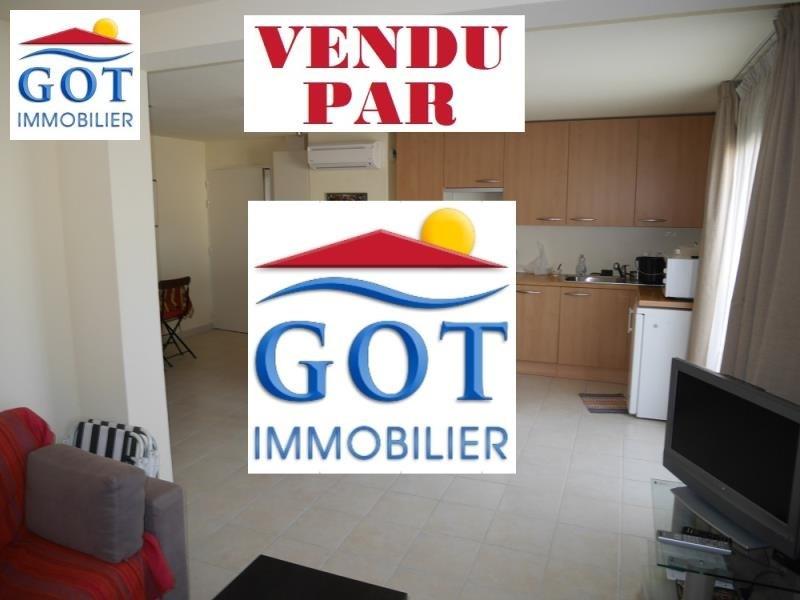 Vente appartement St laurent de la salanque 149000€ - Photo 1
