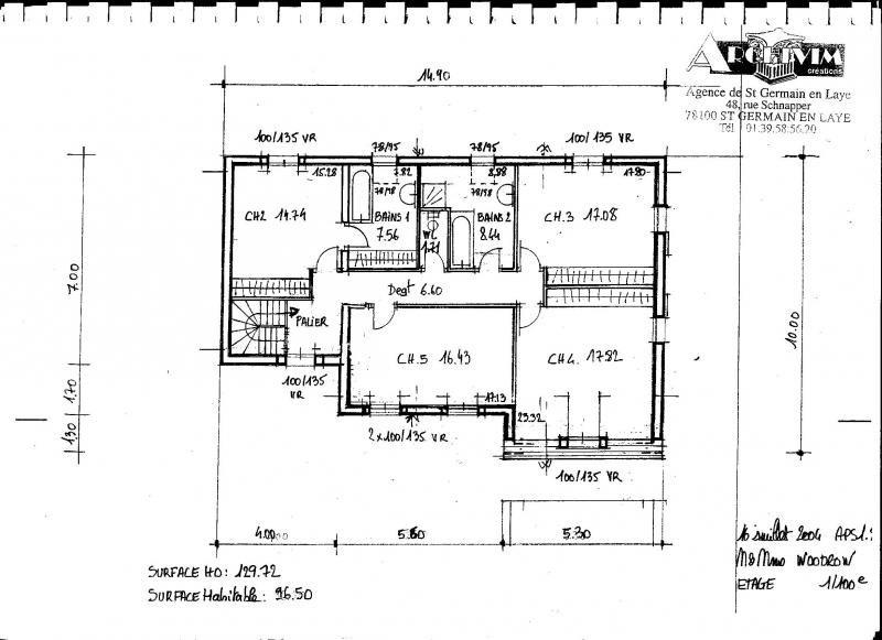 Vente maison / villa Orgeval 595000€ - Photo 6