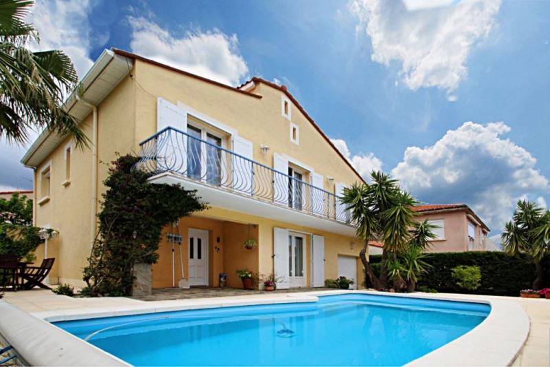 Maison 4 faces piscine et jardin au pied des alberes