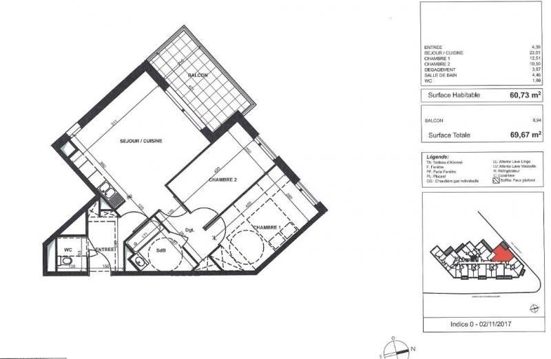 Vente de prestige appartement Antony 366234€ - Photo 1