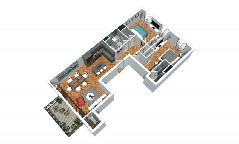 Deluxe sale apartment Lyon 6ème 645000€ - Picture 1