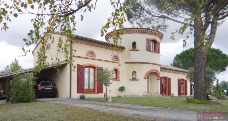 Deluxe sale house / villa Nailloux 550000€ - Picture 1
