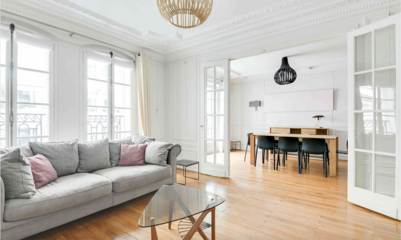 Location appartement Paris 17ème 3 995€ CC - Photo 1