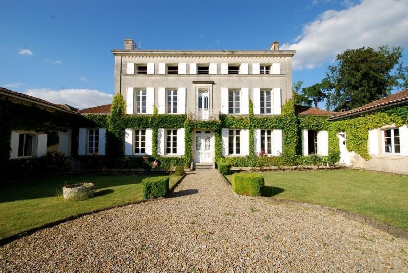Venta  casa Cherves richemont 780000€ - Fotografía 1
