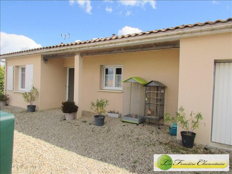 Produit d'investissement maison / villa Aigre 119000€ - Photo 1