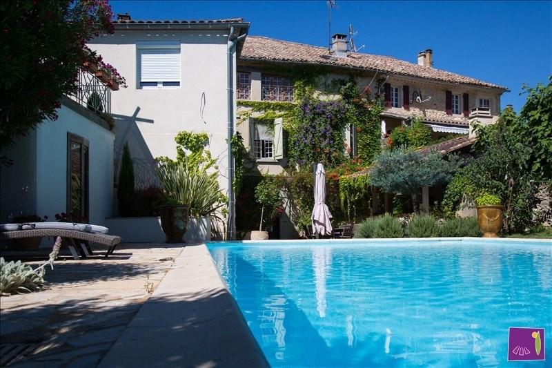 Verkauf von luxusobjekt haus Uzes 579000€ - Fotografie 1
