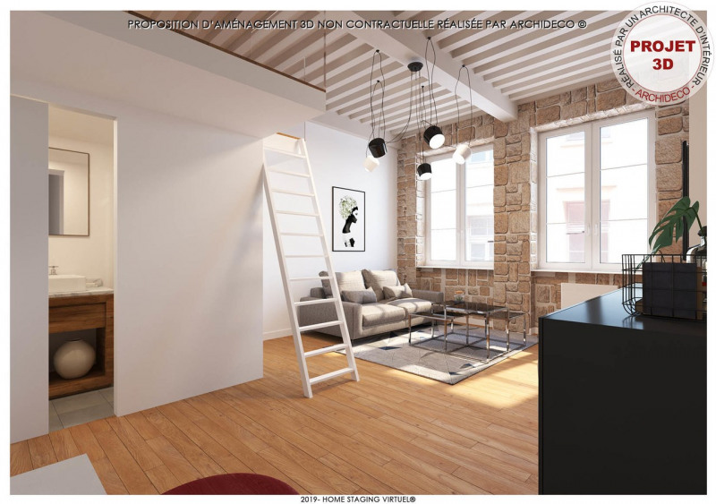 Venta  apartamento Lyon 1er 299000€ - Fotografía 2