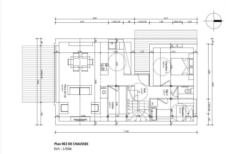 Sale house / villa Laval 255000€ - Picture 3