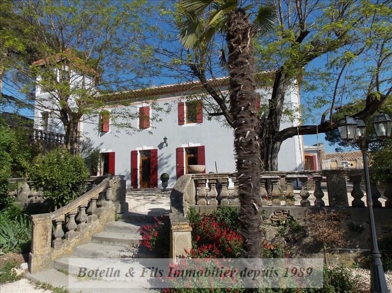 Vente de prestige château Goudargues 895000€ - Photo 1