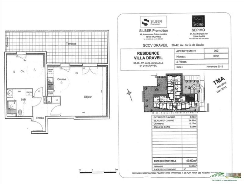 Location appartement Draveil 831€ CC - Photo 6