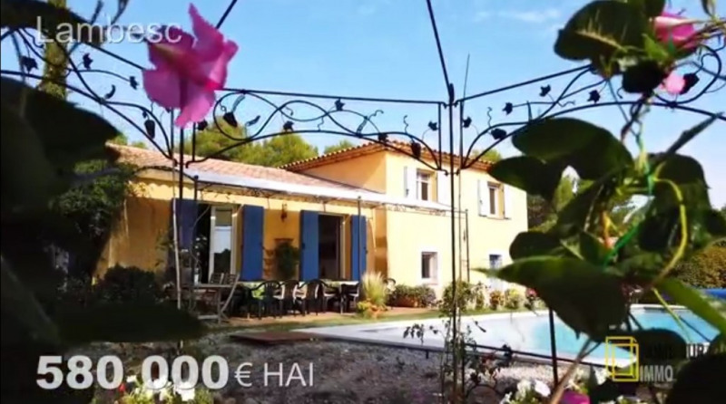 Verkoop van prestige  huis Lambesc 580000€ - Foto 1