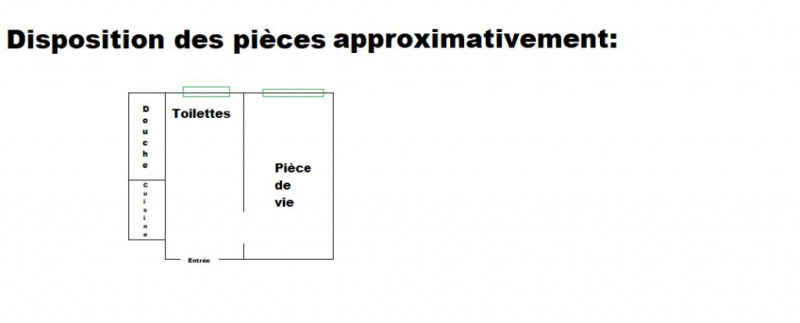 Vente appartement La courneuve 83000€ - Photo 1