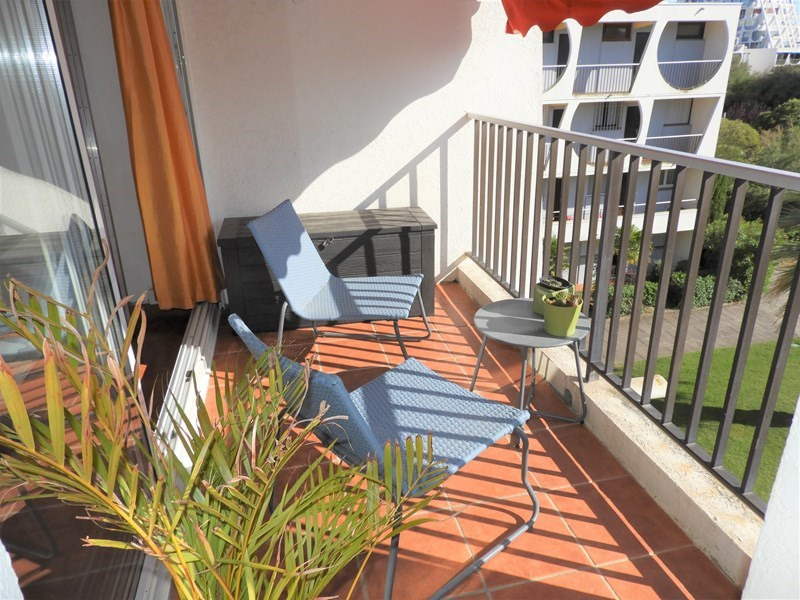 Location vacances appartement La grande motte 390€ - Photo 8