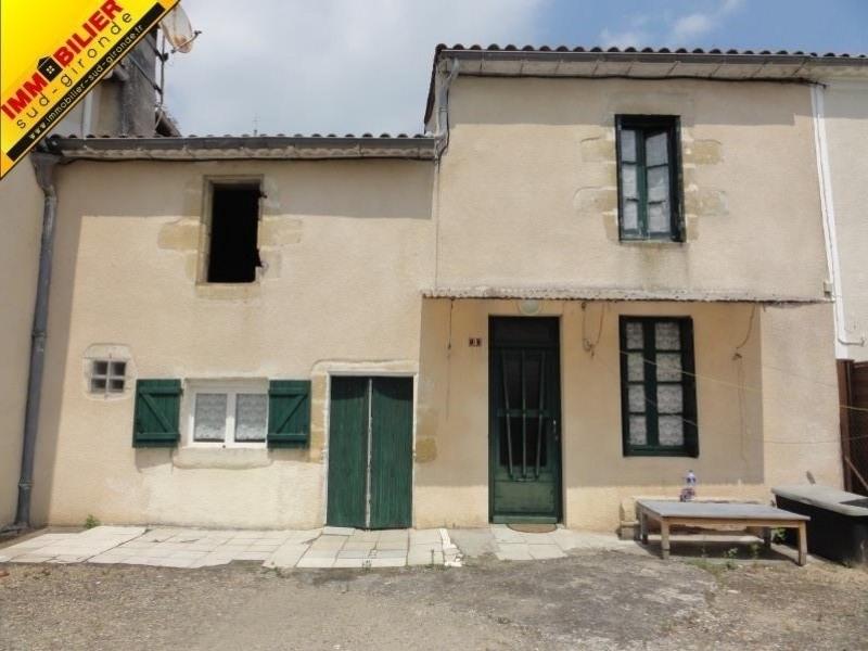 Vente maison / villa Langon 97700€ - Photo 1