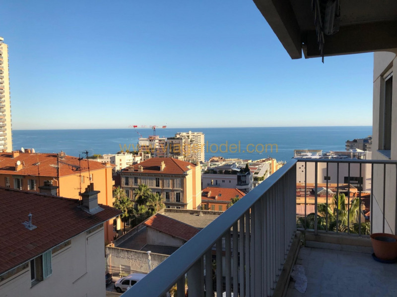 Viager appartement Beausoleil 321 000€ - Photo 1