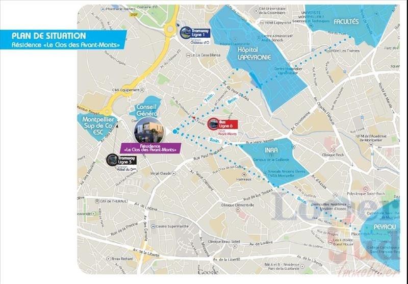 Sale apartment Montpellier 230500€ - Picture 9
