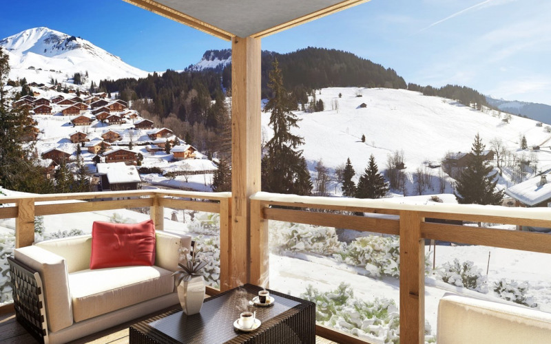 Vente appartement Le grand-bornand 280 000€ - Photo 2