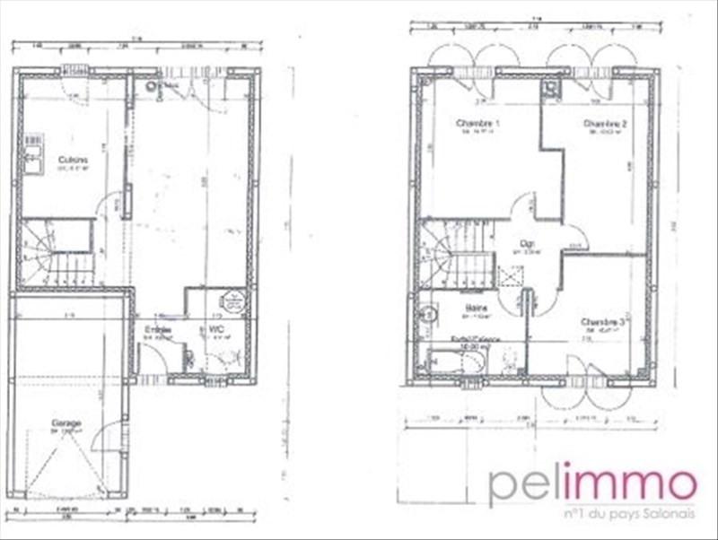 Sale house / villa Alleins 240000€ - Picture 9