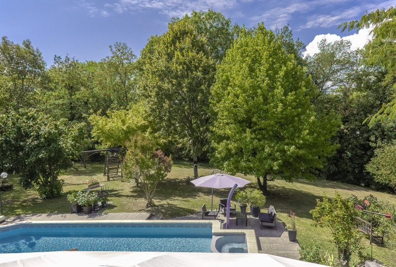 Vente de prestige maison / villa Margencel 878000€ - Photo 1