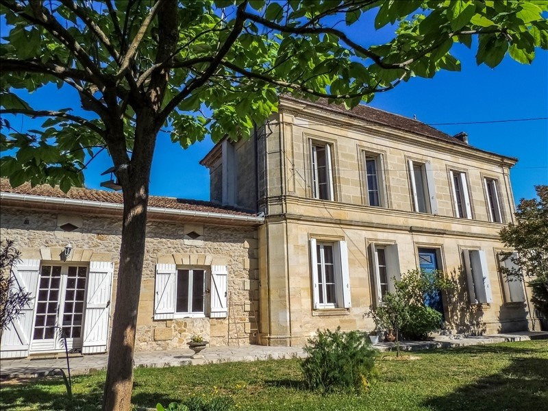Sale house / villa Saint christoly medoc 388 000€ - Picture 1