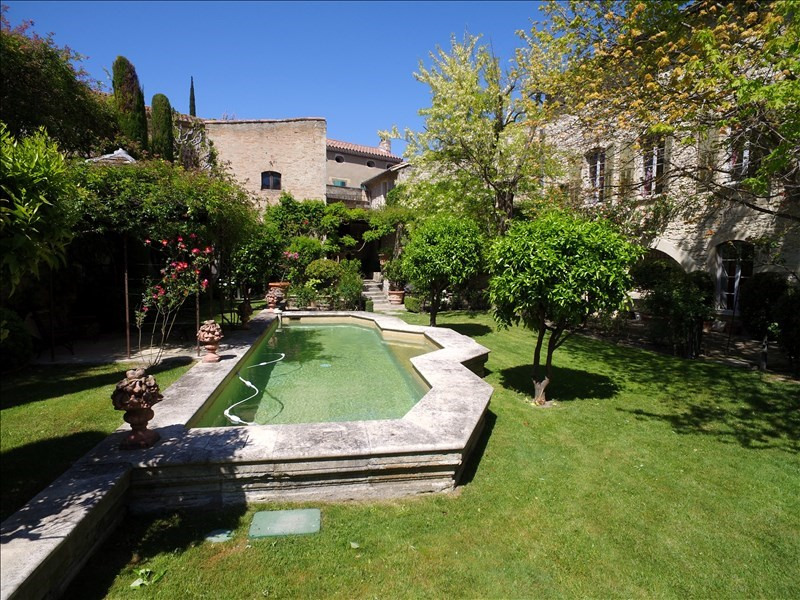 Verkauf von luxusobjekt haus Villeneuve les avignon 1976000€ - Fotografie 3