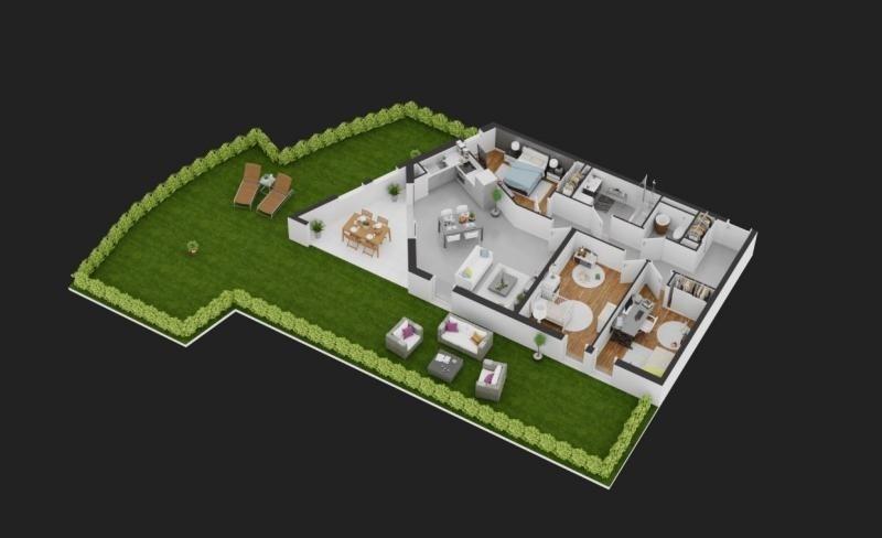 Vente de prestige appartement Balaruc les bains 286000€ - Photo 3
