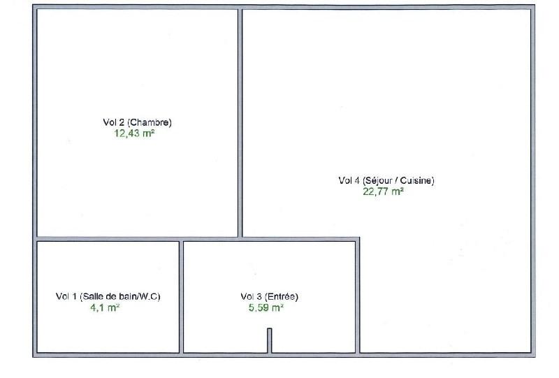 Venta  apartamento Lyon 3ème 222600€ - Fotografía 2