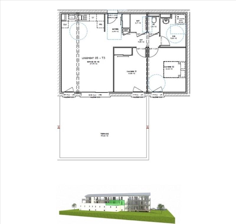 Sale apartment Montelimar 194900€ - Picture 3