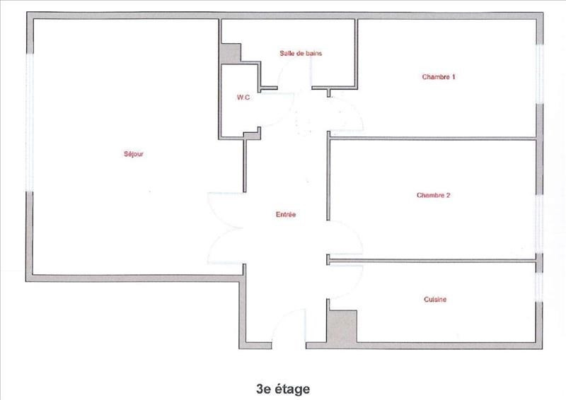 Sale apartment Boulogne billancourt 460000€ - Picture 1