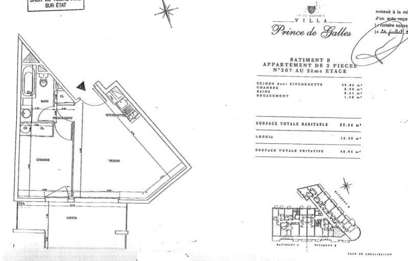 Vente appartement Nice 215000€ - Photo 6