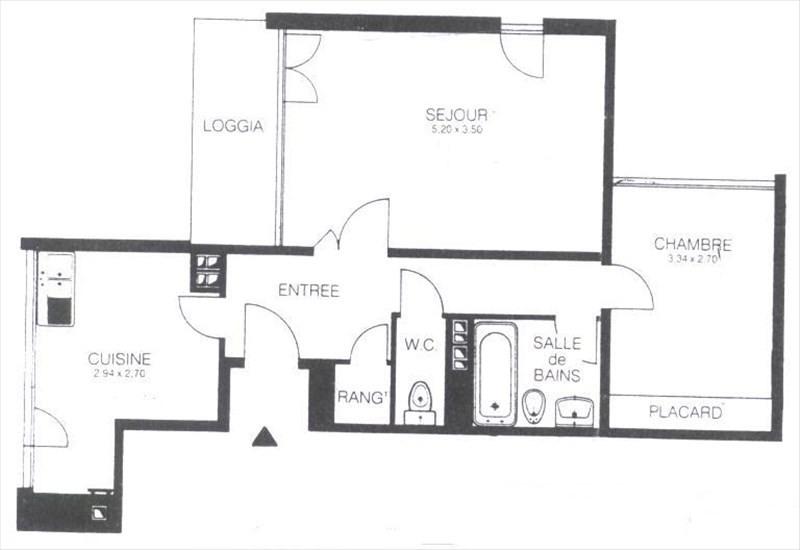 Location appartement Les ulis 784€ CC - Photo 9