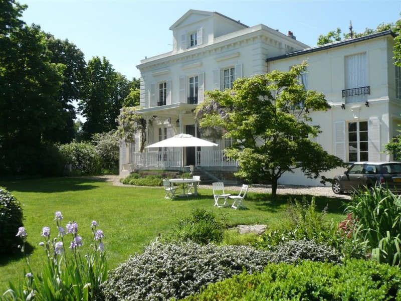Deluxe sale house / villa Maisons laffitte 2140000€ - Picture 1