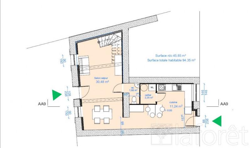 Sale house / villa St alban de roche 265000€ - Picture 2