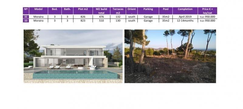 Vente de prestige maison / villa Moraira province d'alicante 950000€ - Photo 6