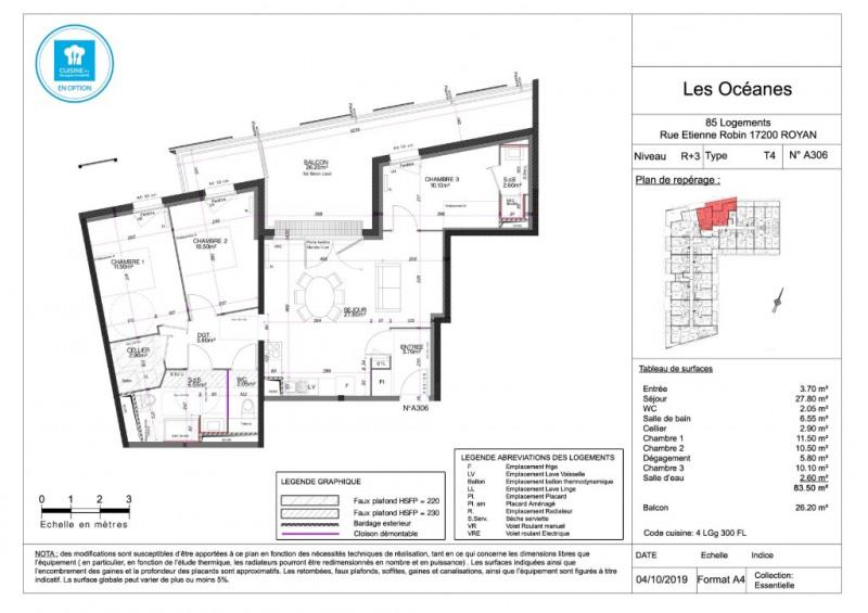 Vente appartement Royan 269000€ - Photo 4