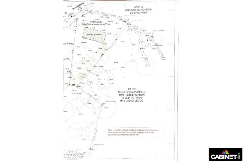 Vente terrain Vigneux de bretagne 69900€ - Photo 10