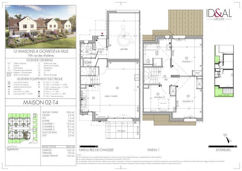 Sale house / villa Gometz la ville 325000€ - Picture 1