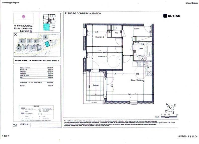 Produit d'investissement appartement St jorioz 268000€ - Photo 2