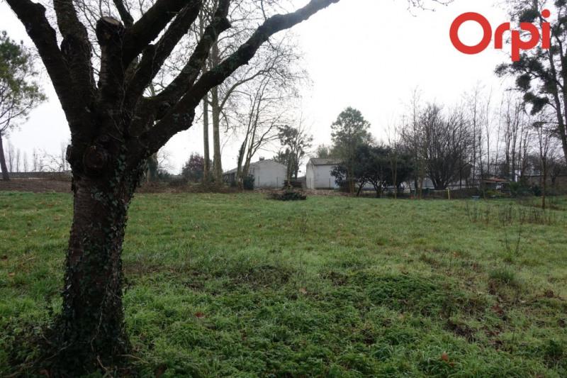 Beau terrain de 1575 m², bourg de meursac
