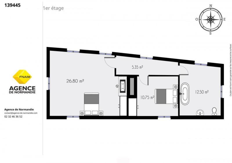 Sale house / villa Montreuil-l'argillé 134000€ - Picture 11