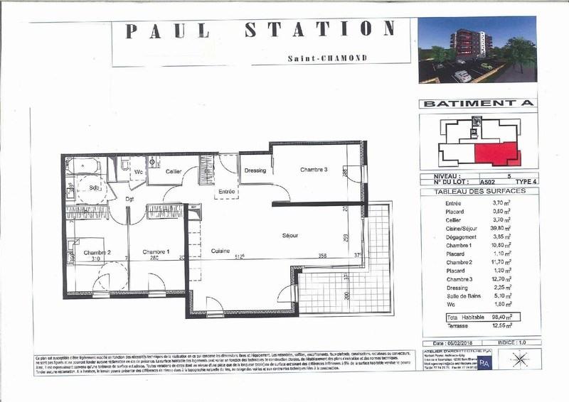 Sale apartment St chamond 248000€ - Picture 2