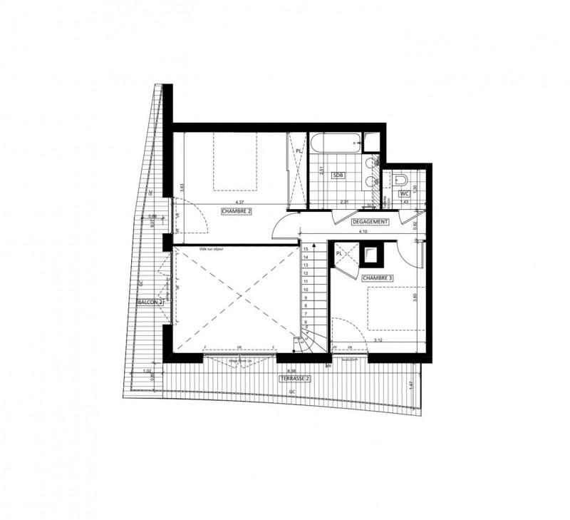 Vente de prestige appartement Issy-les-moulineaux 1145000€ - Photo 2