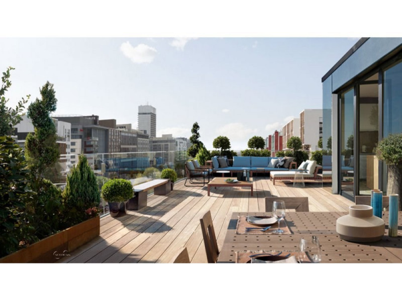 Vente de prestige appartement Paris 18ème 2200000€ - Photo 9
